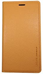 S 4 Case, Samsung Galaxy S4 Soft Leather Case, Mobile Slim Wallet Flip Cover - Credit Card ID Holders (Beige)