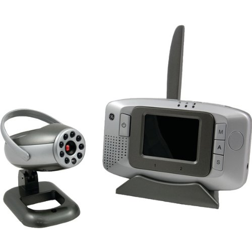 Ge Wireless Analog Camera With Portable 2.5-Inch Lcd Monitor 45261