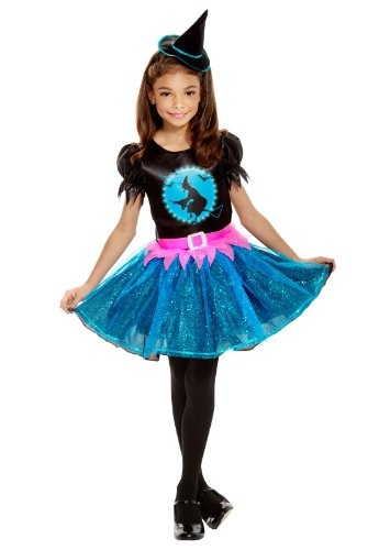 Light Up Witch Child Costume - Medium (8-10)