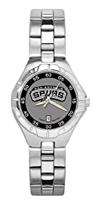 Logoart San Antonio Spurs Pro Ii Ladies Watch by Logo Art