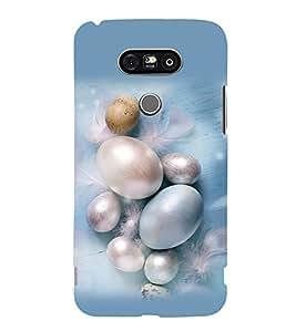 printtech Artificial Eggs Back Case Cover for LG G5