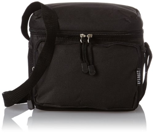 Everest Cooler Lunch Bag, Black