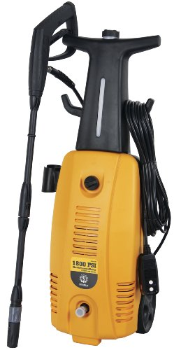 Steele Products Sp-We175 1,800 Psi 1.3 Gpm Electric Pressure Washer With 20-Foot Hose