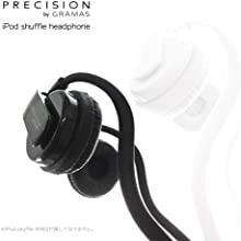 PRECISION by GRAMAS Headphone for iPod Shuffle 2012 ブラック