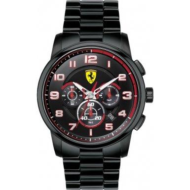 Scuderia Ferrari -- 0830054 - Reloj para hombres color negro