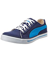 Puma Men's Hip Hop III Ind. Insignia Blue And Blue Aster Sneakers - 4 UK
