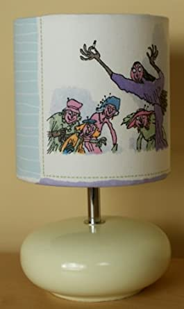 Roald Dahl - The Witches - Table Lamp - Children's Bedside Table Lamp - 20cm