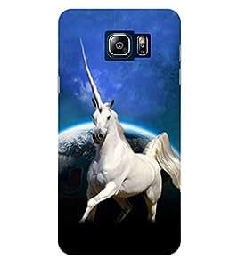 Evaluze unicorn Printed Back Case Cover for SAMSUNG NOTE 5 (2015)