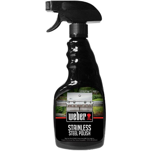 Weber W67 Stainless Steel Grill Polish, 12-Ounce