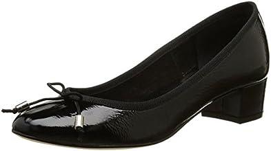 Jonak 264-Dita, Chaussures de ville femme, Noir (Vernis/Noir), 41 EU