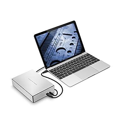 LaCie Porsche Design 4TB USB-C Desktop Hard Drive STFE4000100