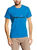 Wildcountry Camiseta Manga Corta Friend 2 M T (Azul)