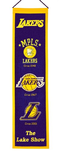 Los Angeles Lakers Vertical Banner