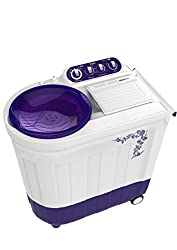 Whirlpool Ace 8.0 Stainfree Semi-automatic Top-loading Washing Machine (8 Kg, Floral Purple)