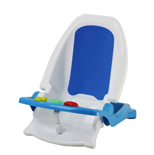 Dream on Me Ultra 2 in 1 Infant Bath Tub and Toddler Bath Seat, Blue