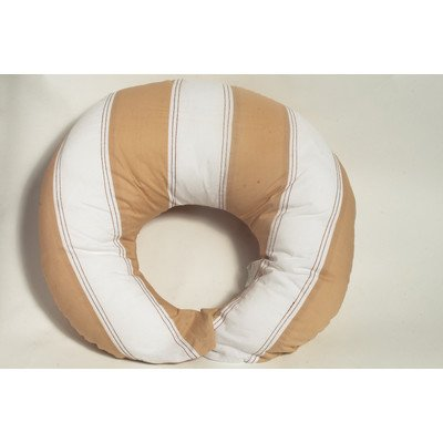Metro Khaki/White/Chocolate  Nursing Pillow Cover only