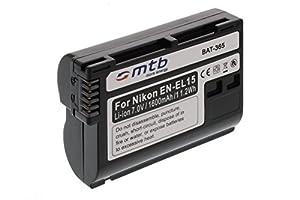 Batterie EN-EL15 pour Nikon 1 V1, D600, D800, D800E, D7000, D7100 -INFOCHIP-