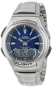 Casio Men's AQ180WD-2AV Ana-Digi Light Sport Watch