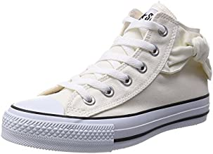 [コンバース] CONVERSE スニーカー ALL STAR SIDERIBBON MID AS SIDERIBON MID WHT (ホワイト/5)