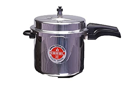 Saral FS00000046 Aluminium 10 L Pressure Cooker (Outer Lid)