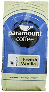 Paramount Coffee French Vanilla, Ground, 40-Ounce (2.5 lb) Bag