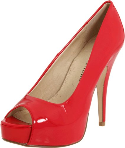 Chinese Laundry Women's Hotness Pump,Red Patent,9 M US