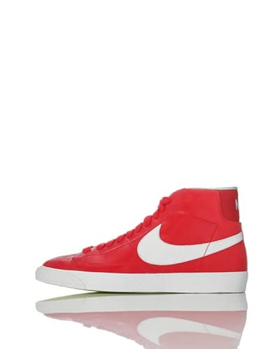 Nike Zapatillas Blazer Mid Prm Rojo / Blanco