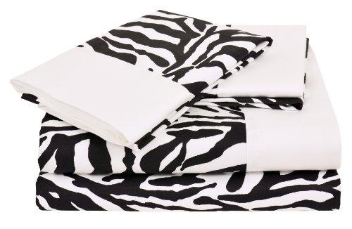 Zebra Print Bedding Twin front-163862
