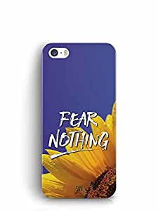YuBingo Fear Nothing Designer Mobile Case Back Cover for Apple iPhone SE