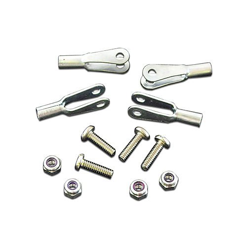 Robart Manufacturing 2-56 Rod Ends w/Screws & Nuts