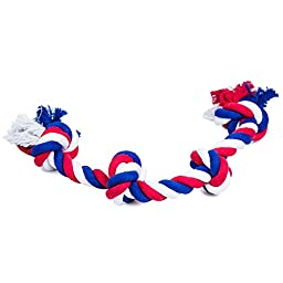 Rope Dog Toys for Large and Small Dogs - Braided Cotton Rope is Durable For Chewing Fun - All Dogs Love to Tug These Toy Ropes