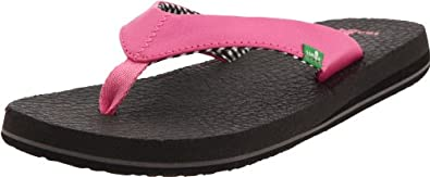 Sanuk Women's Yoga Mat Flip Flop,Pink,5 M US