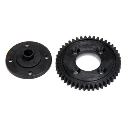 Team Losi 45T Spur Gear, Plastic: 8E 2.0