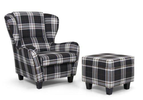 ohrensessel mit hocker tipps und kaufempfehlung 2016. Black Bedroom Furniture Sets. Home Design Ideas