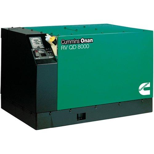 Cummins Onan 6Hdkah-1044 - Rv Generator Set Quiet Diesel Series Rv Qd 6000/8000