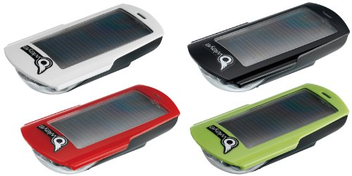 Owleye(オウルアイ) ライト ハイブリッドラックス3 ヘッドライト3LED リチウムイオン充電地 USB ソーラー充電 グリーン 028513