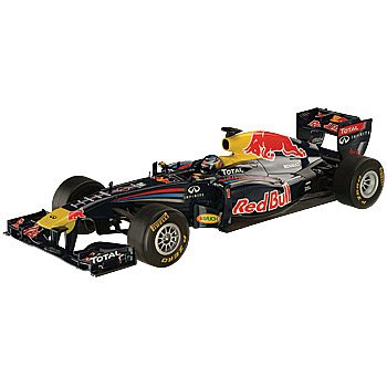 Radio Controlled Red Bull Formula One Race Car: 1/12 Scale Detailed Vehicle