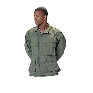 Rothco Ultra Force Olive Drab BDU Shirt Size Large [Misc.]