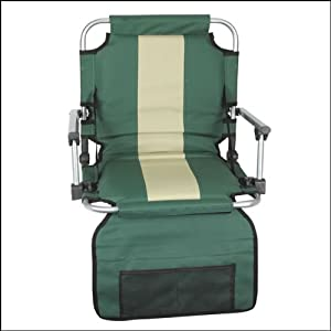 Stansport G-8-10 Folding Stadium Seat With Arms by Stansport