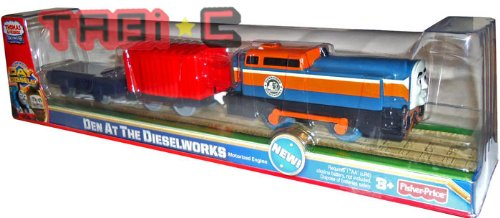 Fisher Price Thomas & Friends Trackmaster DEN AT THE DIESELWORKS As Seen On