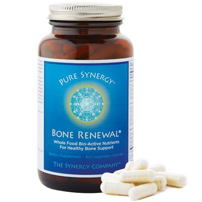 Pure Synergy Bone Renewal Plant based formula For Healthy Bone Support 150 Vegetable Capsules The Synergy Company (Food Based Vitamin D compare prices)
