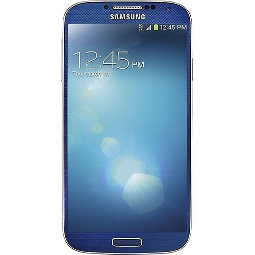 Samsung Galaxy S4 I337 16GB Unlocked GSM 4G LTE Smartphone, Arctic Blue w/ 13MP Camera (Galaxy S4 Virgin Mobile compare prices)