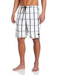Hurley Men\'s Puerto Rico Board Short, White, 28