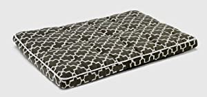 "Bowsers Luxury Dog Crate Mattress, Graphite Lattice, XL 28""x42""x3"" by Bowsers"