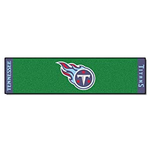 FANMATS NFL Tennessee Titans Nylon Face Putting Green Mat