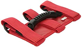 Rugged Ridge 13505.03 Ultimate Red Grab Handle - Pair