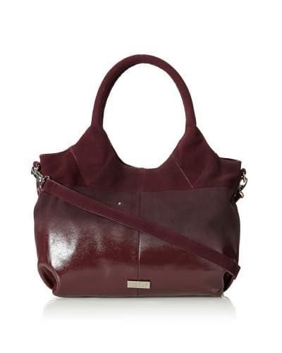 STEVEN by Steve Madden Women's Katee Tote Bag, Aubergine, One Size