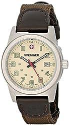 Wenger Women's 72821 Analog Display Swiss Quartz Green Watch