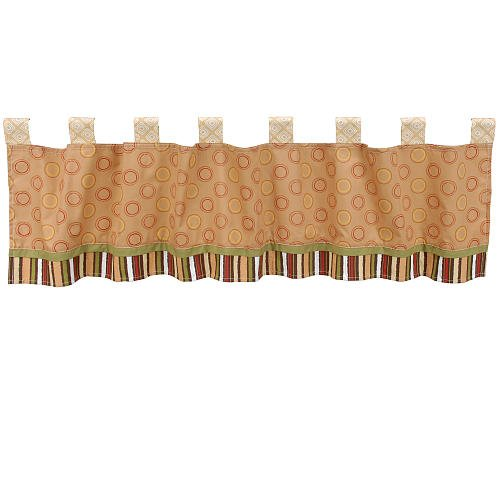 CoCaLo Baby Window Valance - Nali Jungle