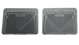Husky Heavy Duty Floor Mats, 2pc 2nd Seat Mats, Color: Gray 52022
